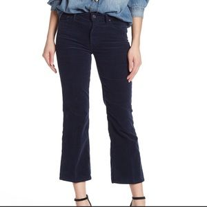 MOTHER The Outsider Crop Blue Jeans Sz 23